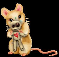 halloween mouse voodoo doll voodoodoll