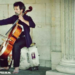 cellist barcelona spain streetmusician