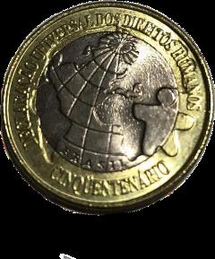 dh direitoshumanos moeda coin coincollection