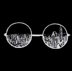 glasses town black overlays editing freetoedit