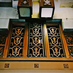 artdeco church bronze metalwork