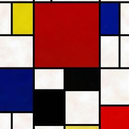 abstractart art mondrian freetoedit