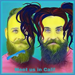 ircmovemberkickoff movemberkickoff freetoedit beards twins