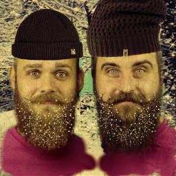 ircmovemberkickoff movemberkickoff freetoedit papereffect beards
