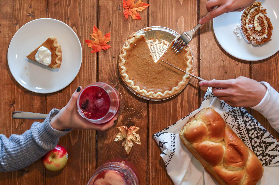 Get lost in your imagination and remix this image!	 Unsplash (Public Domain) #thanksgiving #pie #food #yummy #freetoedit