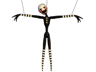 controledpuppet puppet marionette fnaf fnaf2