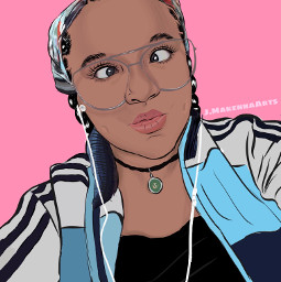 artist mysister selfie drawing amazing