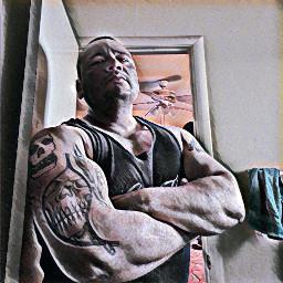 muscleman swole strongman muscles freetoedit