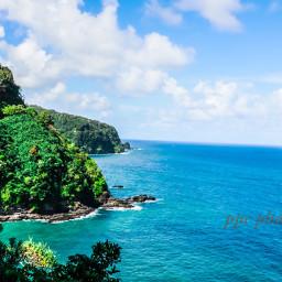beautiful roadtohanahaawaii oceanview greenary naturelovers