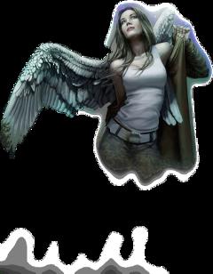 angel woman freetoedit