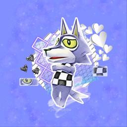 acnl animalcrossing animalcrossingnewleaf wolf gameedit freetoedit