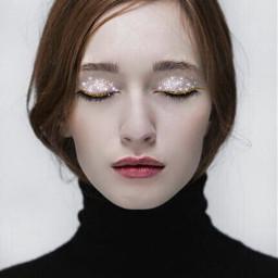 glitter glittermakeup makeup glam freetoedit