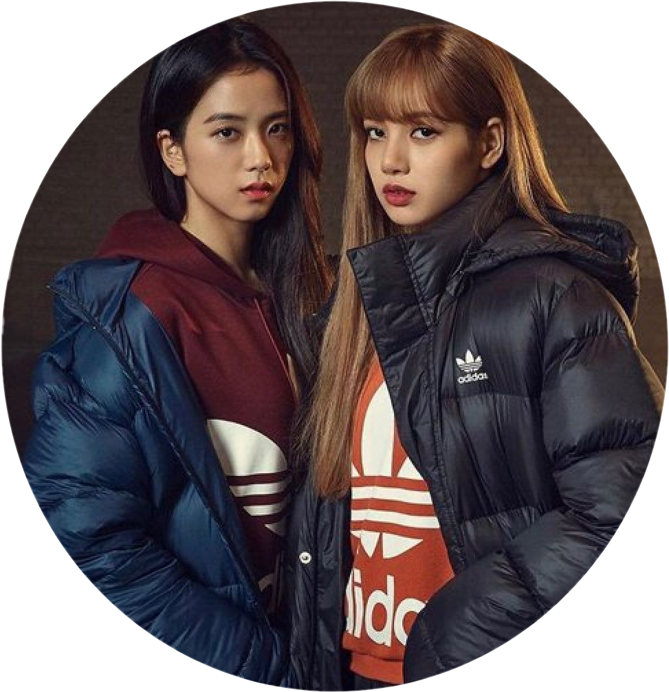 Blackpink Adidas Jisoo Lisa Sticker By Poet