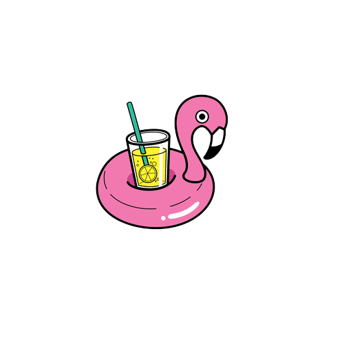 Tumblr flamingo. Sticker by in love