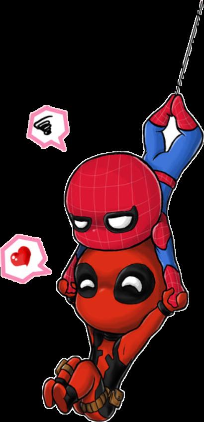 Deadpool Spiderman Tierno