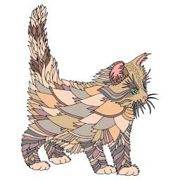 freetoedit cat art coloringbookforme