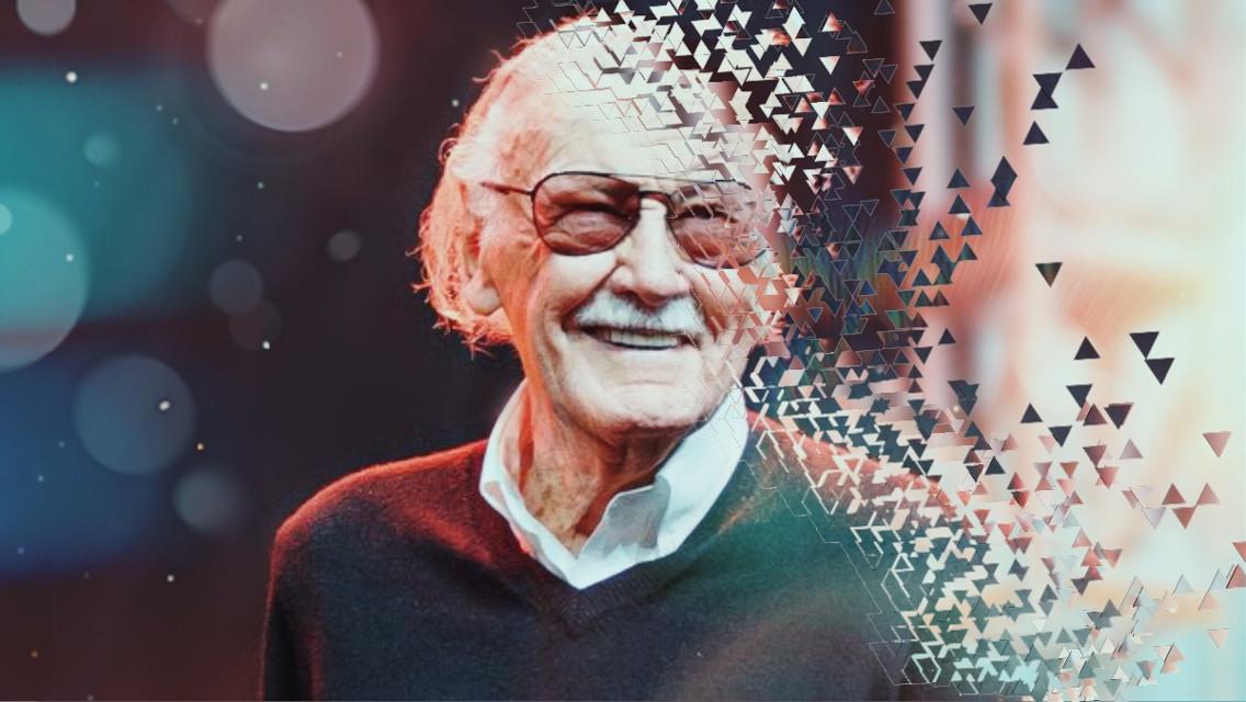RIP 😔 #StanLee #RIP #marvel #ironman #spiderman #superhero #photography #bokeh #memorial #tribute #infinitywar color