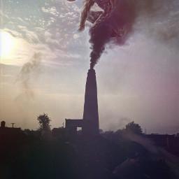 conceptart artistic picsart pollution doubleexposure