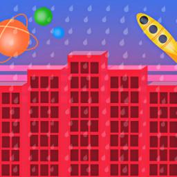 futuristic buildings mydrawing digitalart illustration freetoedit