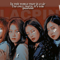 blackpink lisa jennie rose jisoo freetoedit