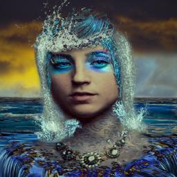 freetoedit waterchic watergirl