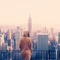 freetoedit tumblr girl skyscraper tumblredit