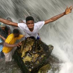 remixit emotion waterfall rocks freetoedit pcbettertogether
