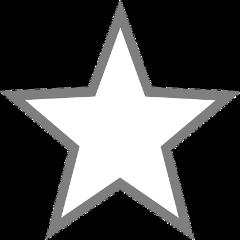 freetoedit star grey white