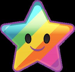 freetoedit star multicolor rainbow rainbowcolors