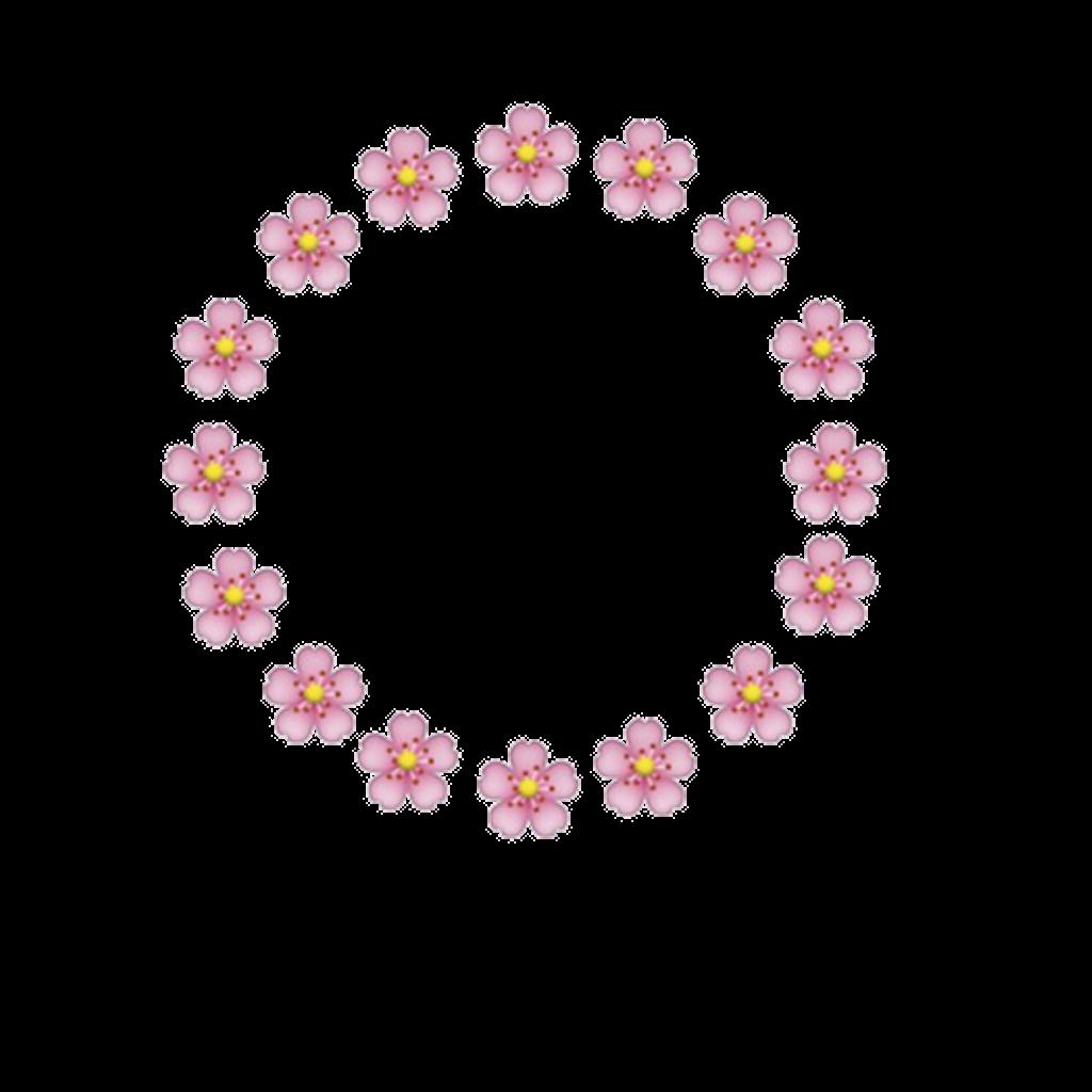Emojis Pinkemoji Floweremoji Flowers Text Message Tumbl