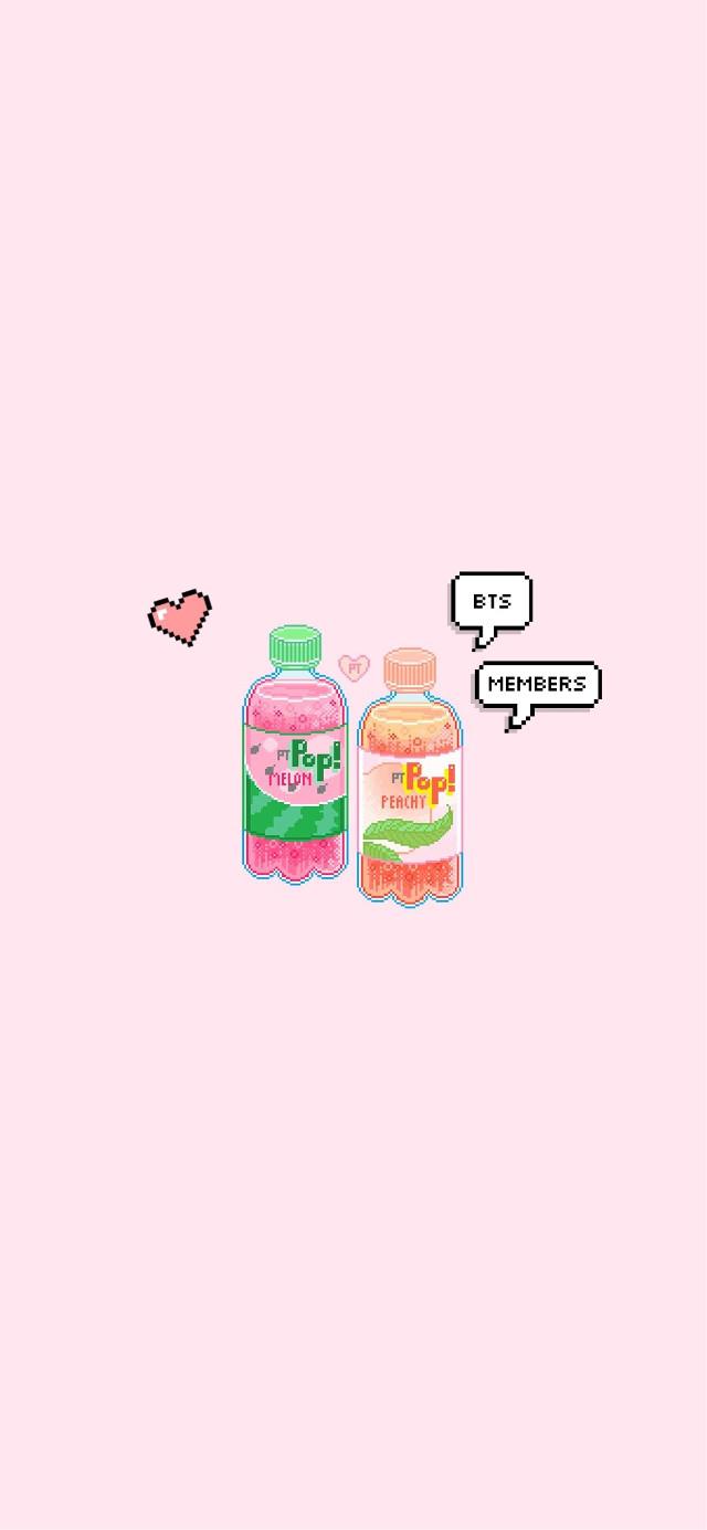 #freetoedit #aesthetic #wallpaper #iphonewallpaper #cute #kawaii #japanese #japan #kawaii #bts #kpop #army #btsarmy #sodapop #pinkwallpaper #pink