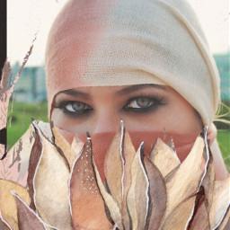 freetoedit portrait artisticportrait woman hijab