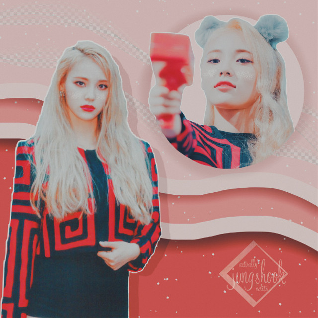 """🌷🌸 Jung Jinsoul 🌸🌷   💫 """"The thousands of moons, the river above the sky, I made it all"""" 💫  Pink(ish) edit for @bluberrye ! Hope you like it! 💓💓"""
