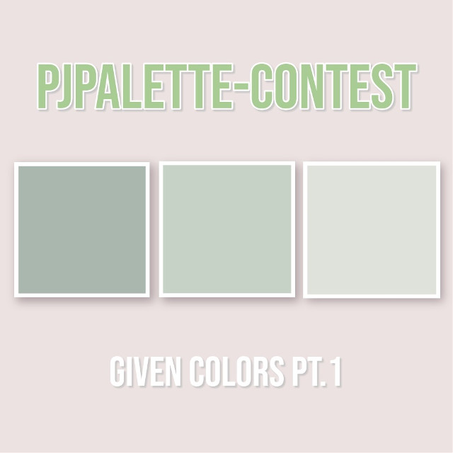 ─🌸☘ CLOSED   𝙋𝙅𝙋𝙖𝙡𝙚𝙩𝙩𝙚 - Contest https://picsart.com/i/280704521013201  𝓽𝓸 𝓭𝓸:  you have been given 𝙨𝙞𝙭 (6) 𝙘𝙤𝙡𝙤𝙧𝙨  in total! (PT.1 and PT.2) your job is  to 𝙘𝙧𝙚𝙖𝙩𝙚 𝙚𝙙𝙞𝙩𝙨 𝙪𝙨𝙞𝙣𝙜 𝙩𝙝𝙤𝙨𝙚 𝙘𝙤𝙡𝙤𝙧𝙨.               PT.2 https://picsart.com/i/280704541031201   It's up to use if you use all six or on-  ly (𝙖𝙩 𝙡𝙚𝙖𝙨𝙩) two of the colors.   Please post your entries (1 to 3) 𝙗𝙚-   𝙛𝙤𝙧𝙚 𝙩𝙝𝙚 𝙙𝙚𝙖𝙙𝙡𝙞𝙣𝙚!   use the hashtag #PJPalette while  posting and 𝙙𝙤𝙣'𝙩 𝙛𝙤𝙧𝙜𝙚𝙩 𝙩𝙤 𝙩𝙖𝙜 𝙢𝙚!   𝓻𝓾𝓵𝓮𝓼:  • use 𝙖𝙩 𝙡𝙚𝙖𝙨𝙩 𝙩𝙬𝙤 (2) of the given  colors  • 𝙪𝙨𝙚 𝙩𝙝𝙚 𝙝𝙖𝙨𝙝𝙩𝙖𝙜 #PJPalette  • 𝙩𝙖𝙜 𝙢𝙚 @pasteljin  • include 𝙔𝙊𝙐𝙍 𝙠𝙥𝙤𝙥 𝙗𝙞𝙖𝙨(𝙚𝙨)!!   𝓱𝓸𝔀 𝓽𝓸 𝓾𝓼𝓮 𝓽𝓱𝓮 𝓬𝓸𝓵𝓸𝓻𝓼:  • screenshot the post of the <GIVEN  COLORS PT.1 AND PT.2>  • go to the draw section and add the  screenshot as a picture in your dra-  wing.  • use eyedropper to pick up the color!  have fun~  #kpopedit #kpop #contest #color #palette