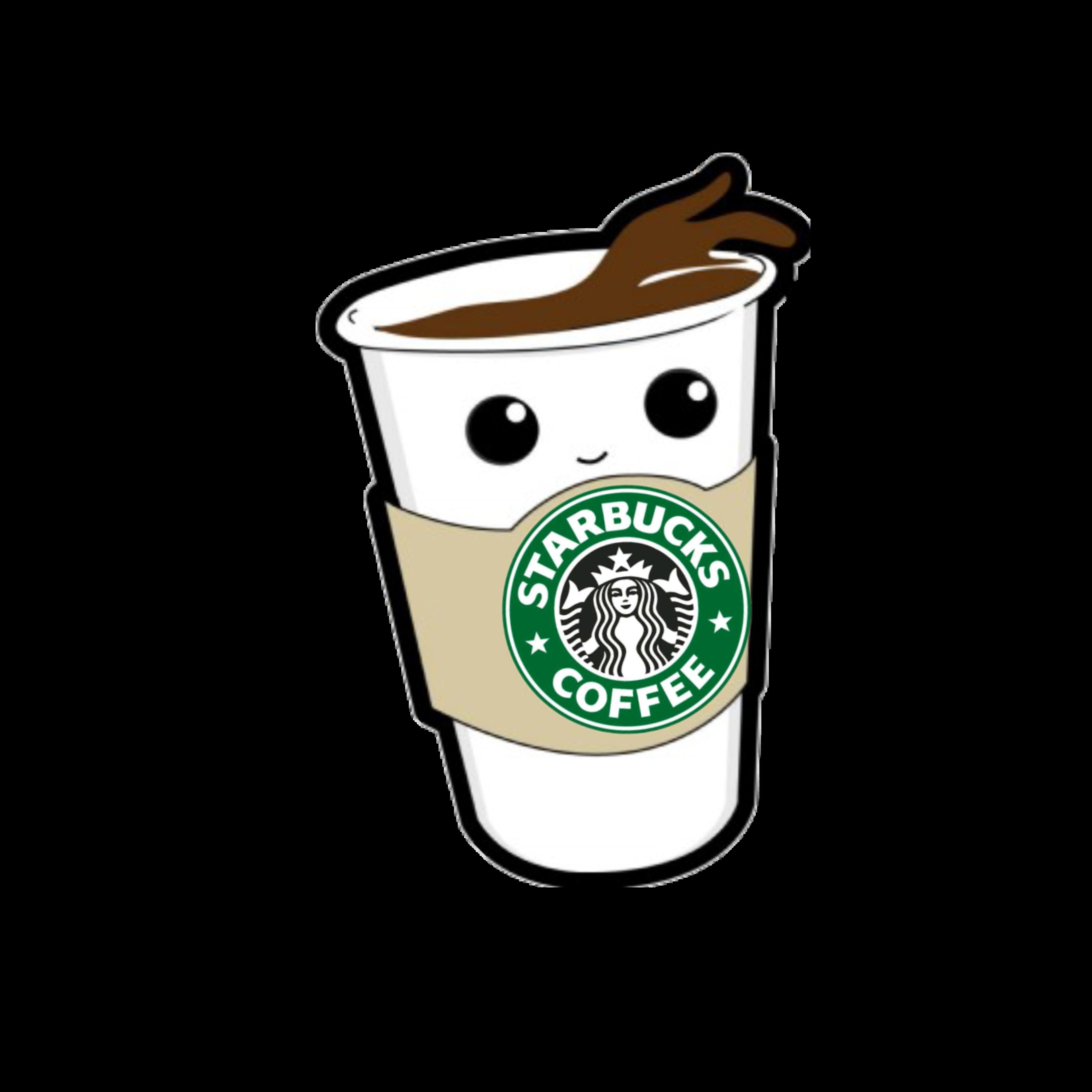 Кофе старбакс рисунки