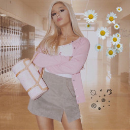 freetoedit arianagrande thankyounext musicvideo meangirls