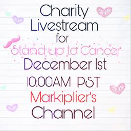 markiplier youtube livestream charity