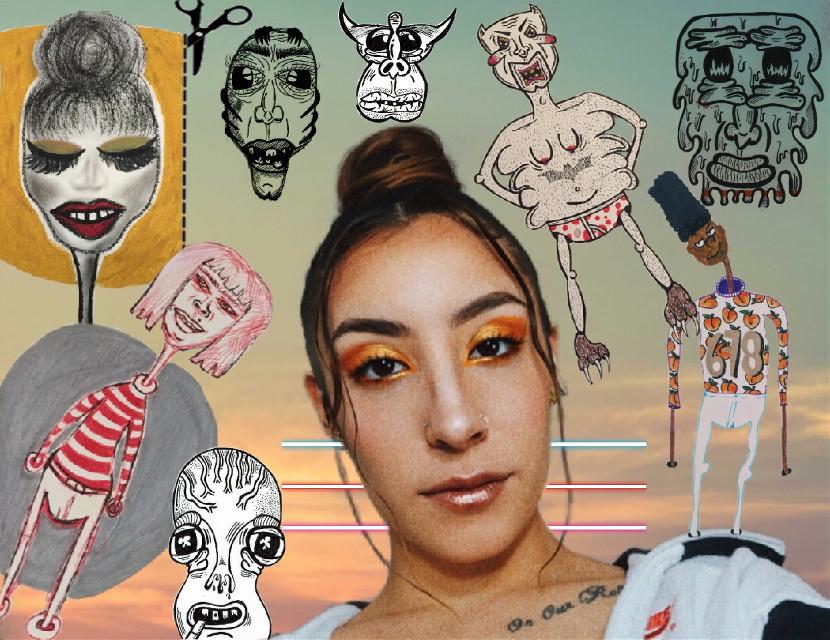 #freetoedit #fridaxdrawings #fridax #fridaxitlalhic #frida #bun #sicksix #mydrawings #art #678 #atlshawty #olddrawings #eyeshadowbabe