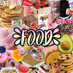 food icecream cookies cereal doritos