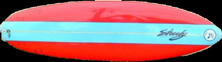 surfboard australian sheely redandblue freetoedit