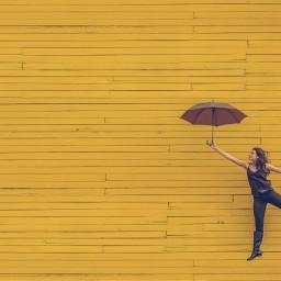 positive girl girls people umbrella freetoedit