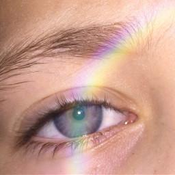 sparklelightbrush freetoedit rainbow blueeye blue