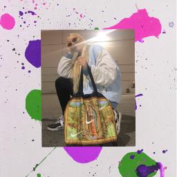 freetoedit paintsplatter nike godisawoman creative