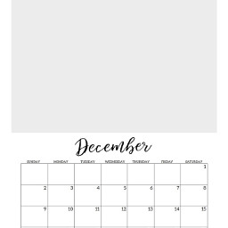december calendar freetoedit
