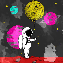 freetoedit spaceart coloringbooks astronaut