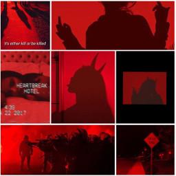 red aesthetic redaesthetic dark darkaesthetic
