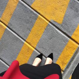interesting fashion heels people photography