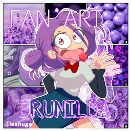 freetoedit bonniefnafhs edit morado brunilda