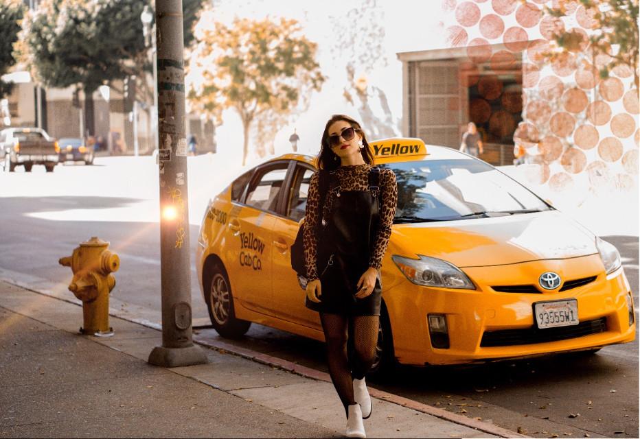 Taxi driver!!   #freetoedit #callacab #taxi #citygirl #losangeles #cabdriver #fallfashion #urbanfashion #urbanexploration #urbanlife #urbangirl #travel #cityremix #cutegirl #fashiongirl