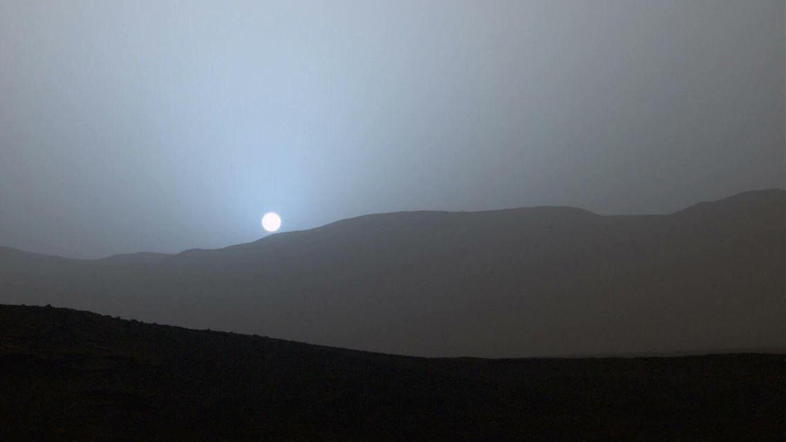 #freetoedit Sunset on Mars #Mars #sunset #beautiful